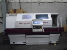 Harrison Alpha 400 CNC Turning MachineNew 2001Serial No. D30020 Equipped With: Fanuc Quick Panel