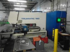 """Trumpf Trumatic 190R Turret Punch Press With VideoS/N: 907064Tonnage: 17 TonWorking Area: 81.4"""" x"""