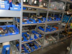 Electrical Components, Staters, Timers, Switches, Disconnecting Boxes For CNC Lathe & MillsLot 52