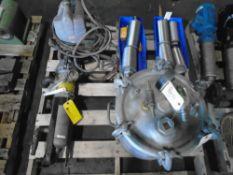 Paint Spryer, Pressure Pot & Filters