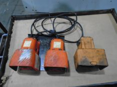 Hydraulic Chuck / Tail Stock Foot Pedals