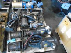 Hydraulic & High-Pressure Coolant Pumps Lot 69