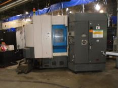 Toyoda FA-450II Horizontal Machining Center / CNC MillSPECIFICATIONS:PALLET DIMENSIONS: 17.7 x 17.