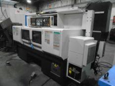 Mazak Multiplex MP4200 CNC Lathe 2011 Mazatrol 640T Control W/ Robot Interface W/ Video