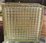 "Ten 8"" Square Glass Tiles"