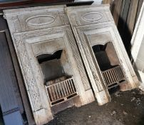Two Fire Place Surrounds