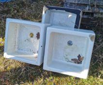 Three Small Sinks