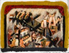 Wolfgang Herzig, Ohne Titel (Entwurf zum Vorhang des Ronacher Theaters Wien)