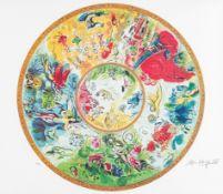 Nach Marc Chagall, Paris Opera Ceiling (Das Deckengemälde in der Pariser Oper)