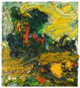 Franz Grabmayr, Waldviertler Landschaft mit Baum