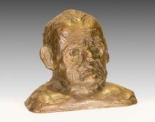 Alfred Hrdlicka, Selbstporträt