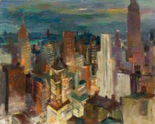 Otto Rudolf Schatz, New York am Abend