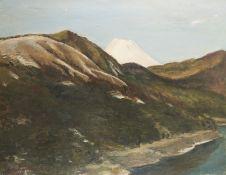 K. Nakamura Mountain Landscape Painting 1934
