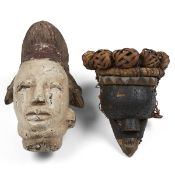 Igbo African Mask & Dan Mask
