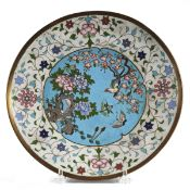 Early 19th C. Chinese Cloisonne Dish