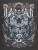 """Hydro74 """"Upper Playground"""" Lithograph"""