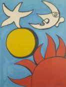 "Alexander Calder ""Sun Moon & Stars USA"" Print"