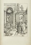"""Albrecht Durer """"The Presentation of the Virgin in the Temple"""" Woodcut"""