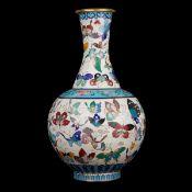 20th C. Chinese Cloisonne Vase