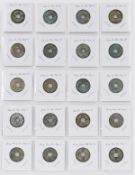 Lrg Grp: 388 Chinese Bronze Coins