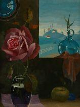 "Rotislaw Racoff ""Nature Morte"" Oil on Board"