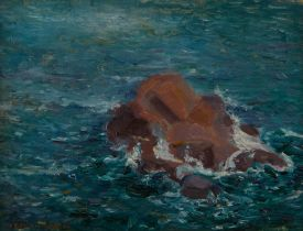 Jenny Petria Collin Seascape Painting