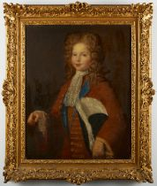 Old Master French School Portrait of a Boy - Relined