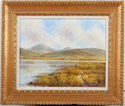 Gerry Marjoram Untitled Landscape Oil on Canvas