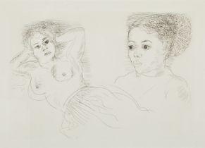 "Raoul Dufy ""Two Antillean Women"" Etching"