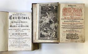 Zwei   Nürnberger   Bibeln
