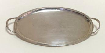 Silber - Tablett