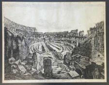 Luigi  Rossini,  Das  Colosseum  in  Rom   1813/14