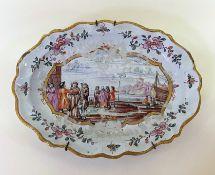 Kauffahrtei - Platte erste Hälfte 18. Jahrhundert