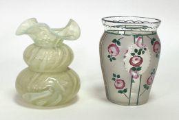 Zwei Vasen (wohl Harrach und Steinschönau)