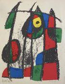 Joan   Miro, Abstrakte   Formation
