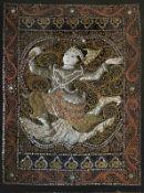 Buddhistisches Stickbild Myanmar (Burma)