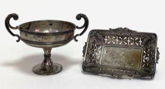 Zwei   Teile  Silber   Birmingham