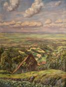 Conrad   Kayser, Weites   Land  mit  Dörfern
