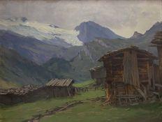 Karl  Ludwig   Prinz, Am   Hintertux  im   Zillertal