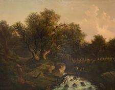 Albert  Lang, Entscheidung   am   Wildbach