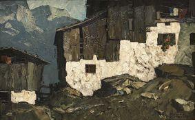Oskar  Mulley, Bauernhof  in  den  Kufsteiner  Bergen