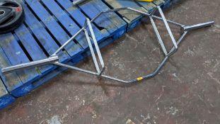 Large weightlifting bar/frame