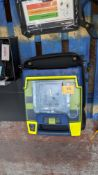 Powerheart AED G3 automated external defibrillator in case