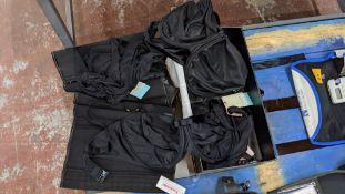 Quantity of larger sized lingerie & swimwear comprising Prima Donna Myla Dalbesio, black lace bra si