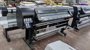 HP DesignJet L26500 wide format printer, factory model CQ869-64001
