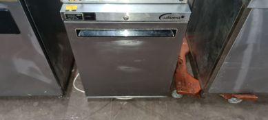 Williams stainless steel under counter fridge