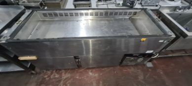 Stainless steel refrigerated cabinet