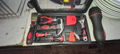 Small toolkit plus separate additional torch & scraper