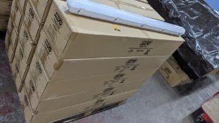 30 off IP65 non-corrosive LED fluorescent light fittings. Model GLO65-3, 4', single LED 20W, polyca