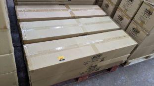 36 off IP65 non-corrosive LED fluorescent light fittings. Model GLO65-3, 4', single LED 20W, polyca